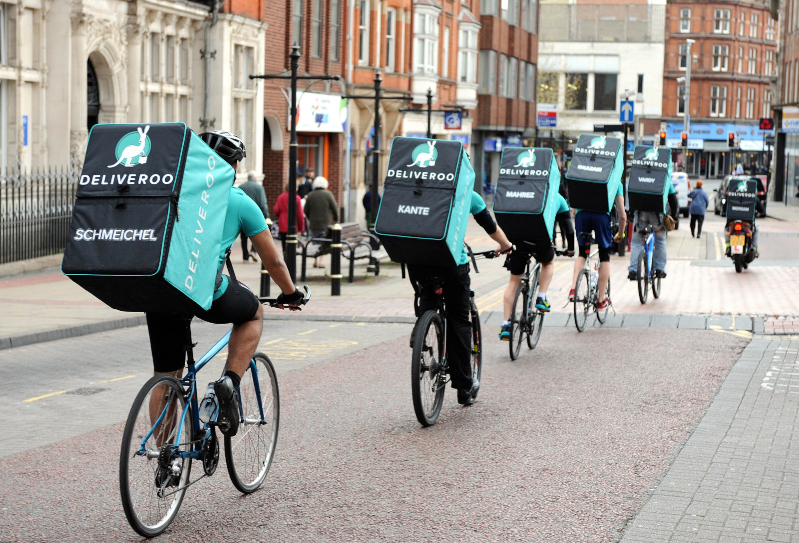 deliveroo biking
